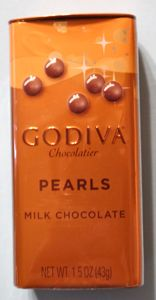 ゴディバのパールチョコミルク