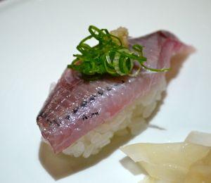 さんまの握り寿司