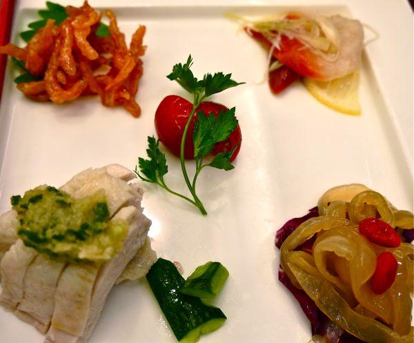 中華料理の前菜
