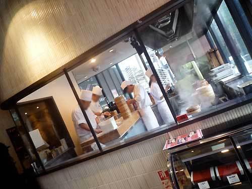 恵比寿の京鼎樓の店内の写真
