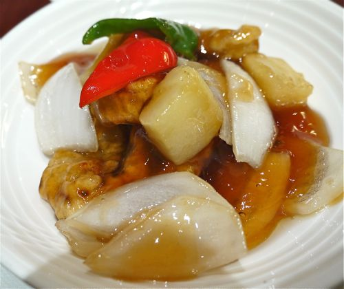 中華料理の酢豚
