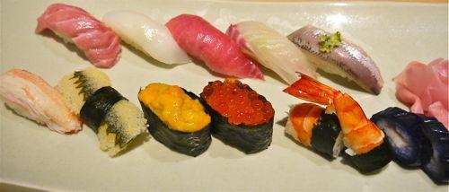 寿司の握り