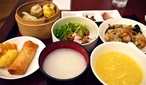 中華料理の飲茶ランチ