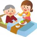 アルツハイマー(認知症)の老人介護の画像