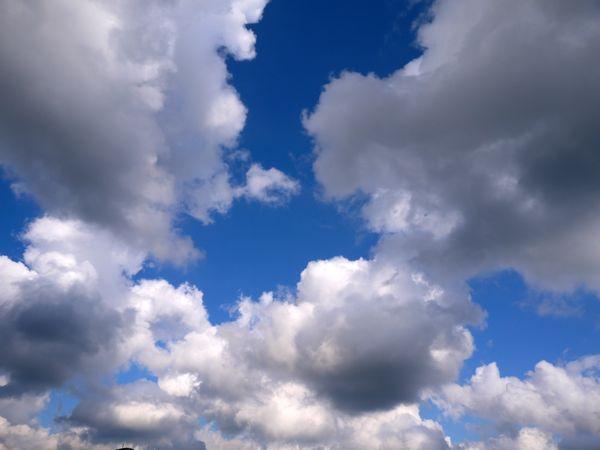 芦ノ湖の空