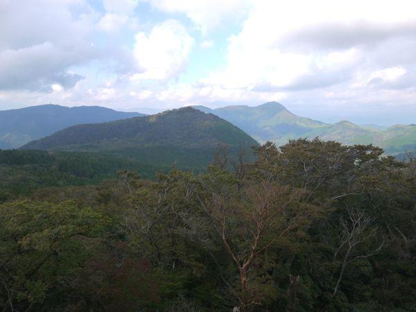箱根モノレールの景色