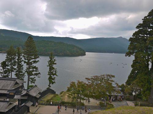 箱根の関所の見張り台4