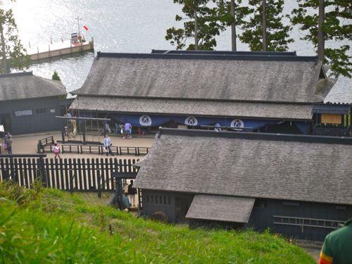 箱根の関所の見張り台3