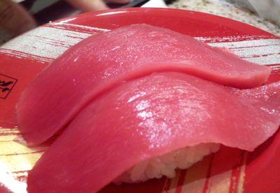 まぐろの握り寿司