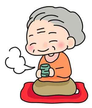 おばあちゃんのイラスト画像